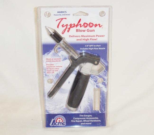 acme typhoon air blow gun